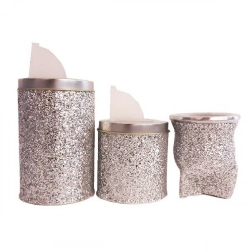 Set latas gold/mate goma eva