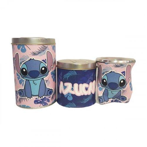 Set latas con mate goma eva