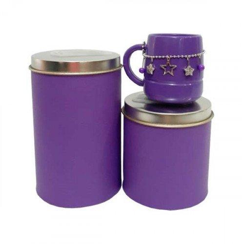 Set latas C/mate Mini Plastico Chik