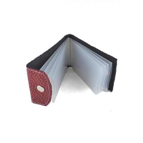 Tarjetero c/folio