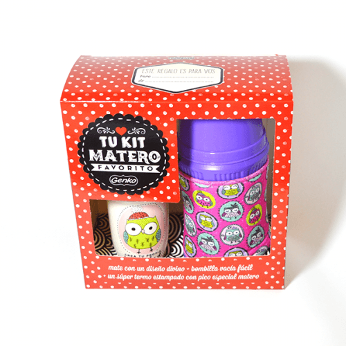 Kit mate+ termo en caja genko
