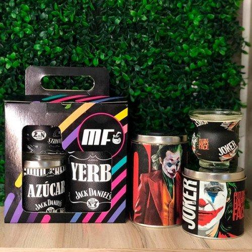Set latas diseño en caja