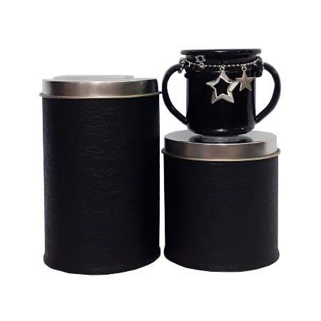 Set latas c/mate enlozado chick black